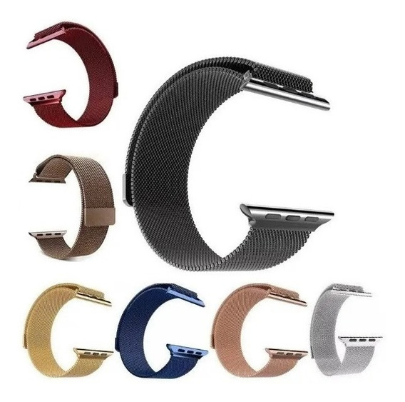 Extensible Correa Metalica Apple Iwatch Series 1 2 3 4 5