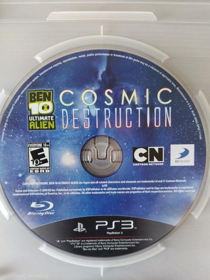 Ben 10 Ultimate Alien Cosmic Destruction - Ps3
