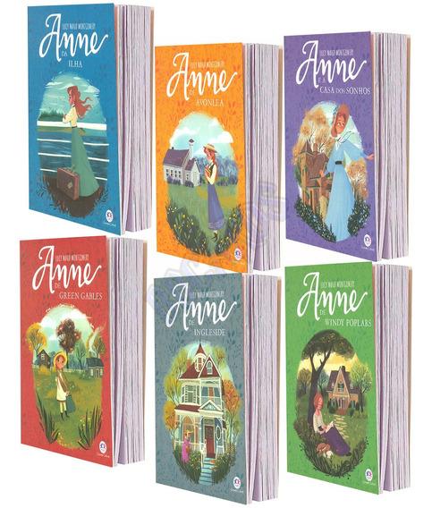Série Completa Anne With Ane Com 6 Livros