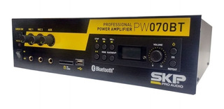 Potencia De Sonido Skp Pw-070bt Sd Usb Bluetooth 80watt Aux