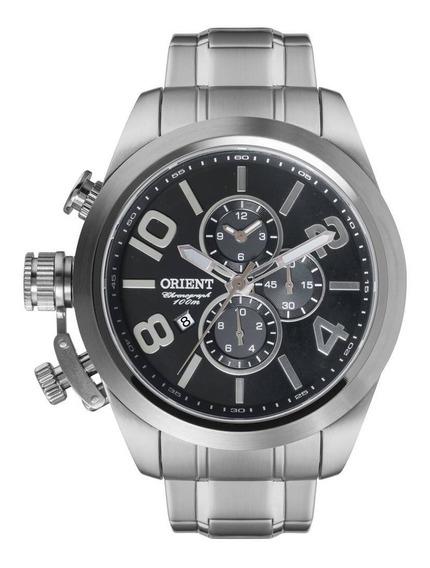 Relógio Orient Masculino Prata Cronografico Mbssc130 P2sx