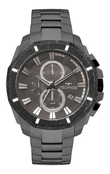 Relógio De Pulso Technos Masculino Js16aa4c - Grafite