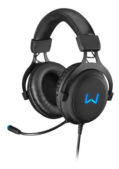 Headset Gamer Warrior Volker 7.1 Usb Com Led Azul - Ph258