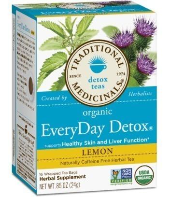 Everyday Detox® Lemon -- 16 Bolsitas De Te