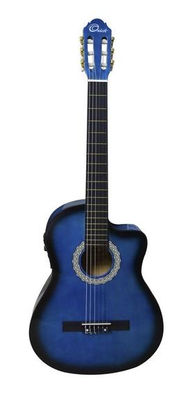 Guitarra Electroacustica Orich Con Forro Y Cuerdas Nuevas