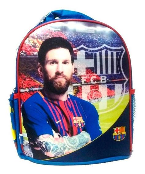 Mochila Espalda Barcelona Messi Original 12 Pulgadas Escolar 15205 Mapleweb