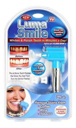 Blanqueador Dental Luma Smile Pulidora De Dientes Nuevo