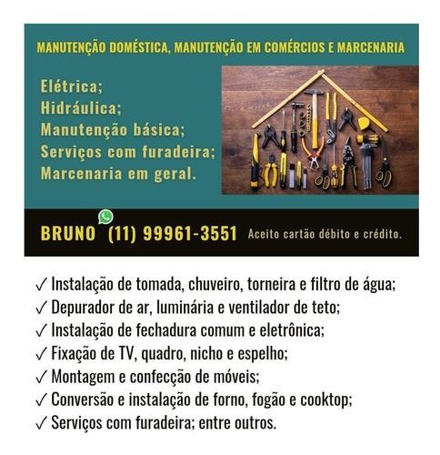 Imagem 1 de 5 de Marido De Aluguel - Manutenção Doméstica - Marcenaria