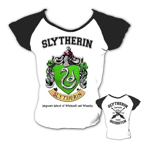 Baby Look Slytherin Sonserina Serpente Harry Potter Casas