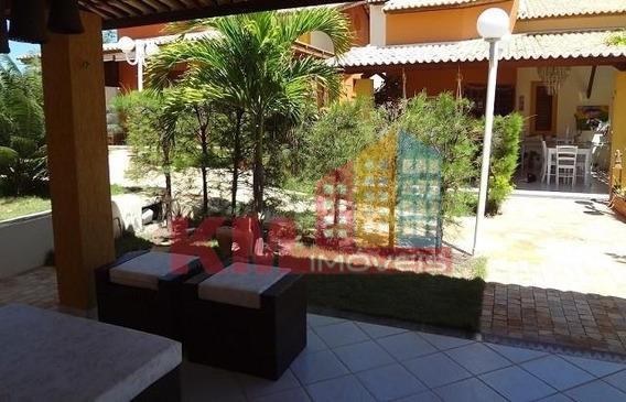 Vende-se Casa De Praia Em Tibau Condomínio Brisas Do Oeste - Ca0094
