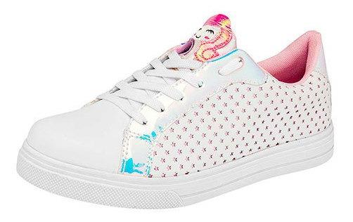 Mpink Zapato Casual Sint Blanco Dama Estrella C68448 Udt