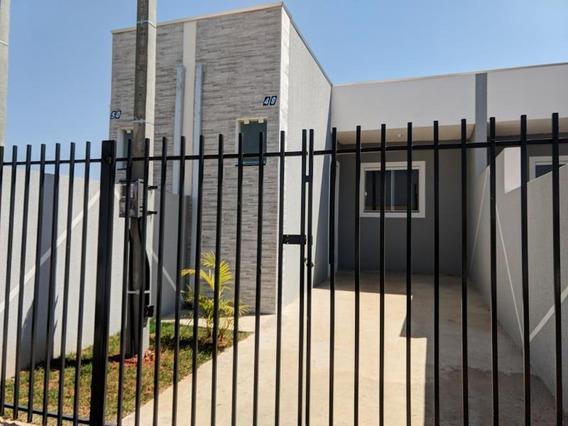 Casa Para Venda Em Ponta Grossa, Contorno, 2 Dormitórios, 1 Banheiro - Ll1259_1-1268897