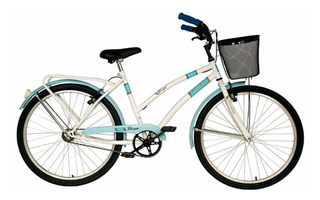 Bicicleta Paseo Dama Fiorenza Tempo Canasto Rodado 26 Envio