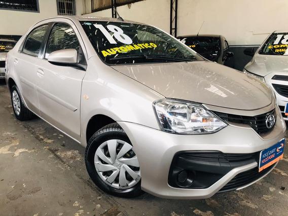 Toyota Etios Xs Aut 1.5 2018 Unico Dono