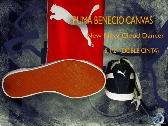 Geniales Tenis Puma Benecio Canvas.. Utimo Par!!