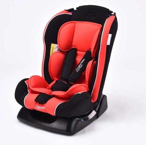 Cadeira Cadeirinha Infantil Bebê Carro Reclinável Verm Bb638