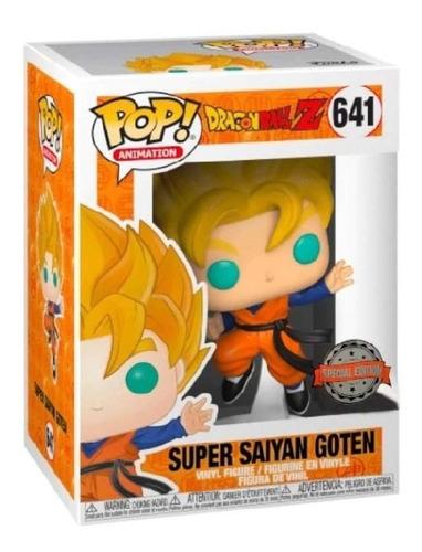 Funko Pop! Ssj Goten #641 Dragon Ball Z Jugueteria El Pehuen