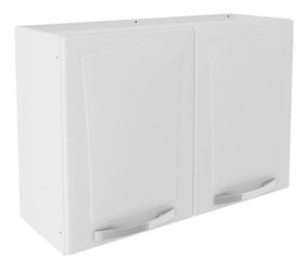 Armário De Cozinha Itatiaia Itanew Aço 2 Portas 80cm Branco