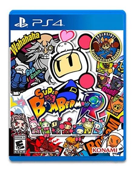Jogo Super Bomberman R Mídia Física - Ps4