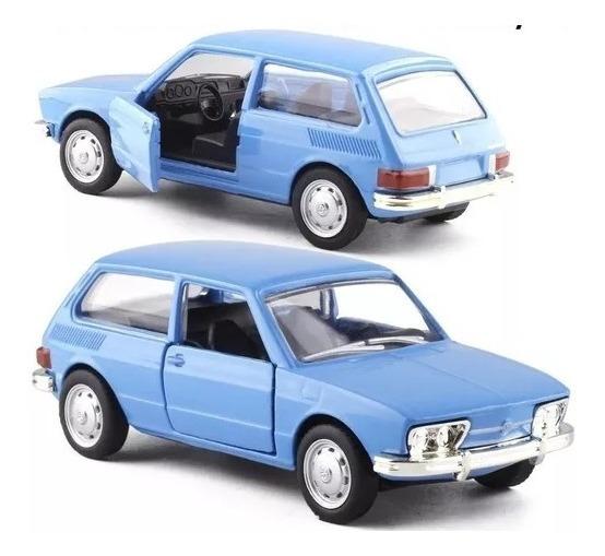 Volkswagen Brasilia 1973 Coleção Carros Nacionais