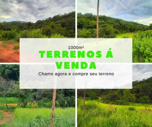 Terrenos Disponíveis De 1000m² Em Mairinque!