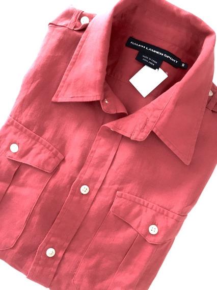 Camisa Polo Ralph Lauren Feminina M/curta Nova Original