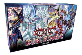 Yugioh Box O Poder Do Duelo - Duel Power Pronta Entrega