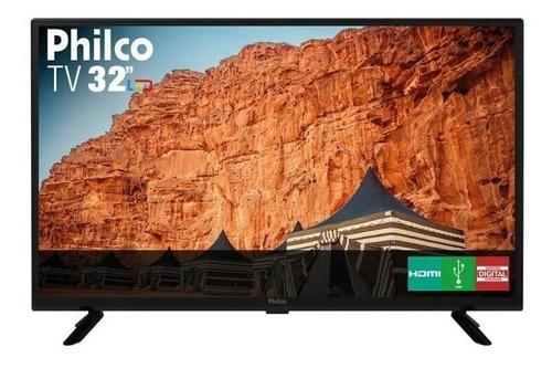 Imagem 1 de 1 de Tv Led 32'' Philco Ptv32g50d Hd Com Conversor E Receptor