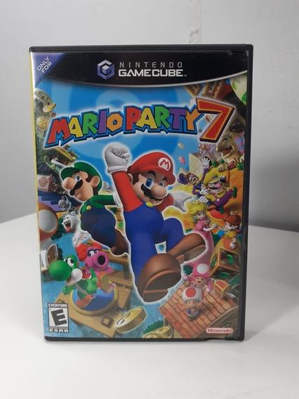 Mario Party 7 Nintendo Gamecube Original Americano Seminovo
