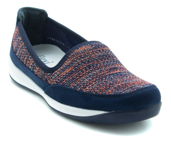 Flexi Dama Zapatos Urbano Cómodos 28308 Blue Originales