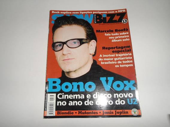 Revista Showbizz - Bono Vox - U2, Janis, Marcelo Bonfá, Beck
