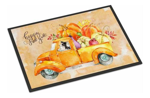 Imagen 1 de 3 de Caroline's Treasures Fall Harvest Border Collie - Felpudo