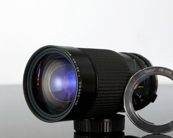 Tokina A-tx Zoom Macro 35-200mm F3.5-4.5 Canon Eos Ef