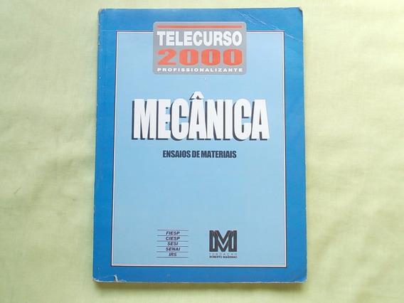 DO 2000 DE BAIXAR APOSTILA TELECURSO MECANICA