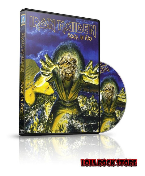 Dvd - Iron Maiden Live At Rock In Rio 1985