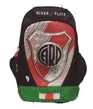 Mochila Futbol River Plate 18 Pulgadas Pasto Cuotas Mmk Ri119