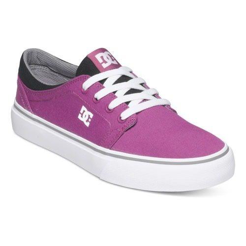 Tenis Calzado Mujer Dama Skate Trase Tx Pwh Dc Shoes Summer