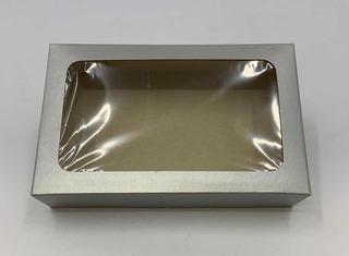20 Caixas De Presente 19x12x4cm: Com Visor-retangulares -v1
