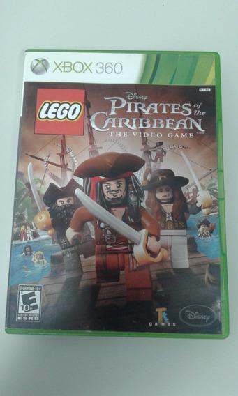 Jogo Original Lego Piratas Do Caribe - Xbox 360