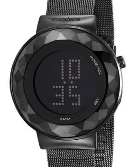 Relógio Mondaine Feminino Em Led Slim 32006lpmvpe3 Garantia De 1 Ano E Nota Fiscal
