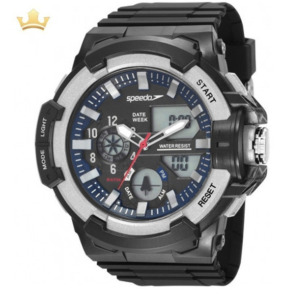 Relógio Speedo Masculino 81187g0evnp2 Com Nf]