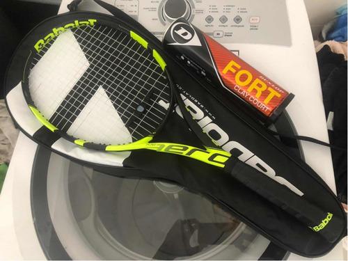 Raquete De Tênis Babolat Pure Aero Serie Nadal L4 - Zerada