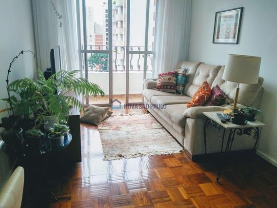 Ótima Localização Em Moema Pássaros. Apartamento 87 M², Sala Em L, 02 Dormitórios E 02 Vagas. - Mo442