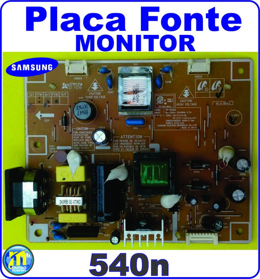 Placa Fonte Monitor Samsung 540n Perfeita
