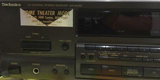 Home Teather Technics Recién Puesto A Nuevo Por V T Audio