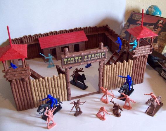 Antigo Forte Apache Gulliver Junior Batalha Lacrada Original
