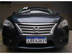 Nissan Sentra Sl Automático Com Teto Solar, Banco De Couro (