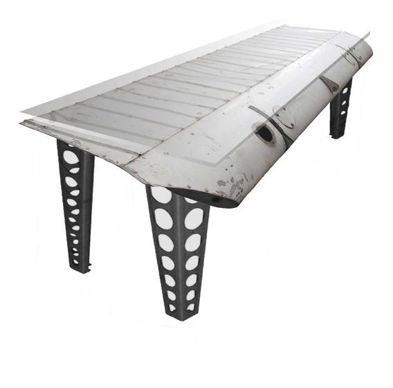 Mesa / Escrivaninha Customizada De Aviação