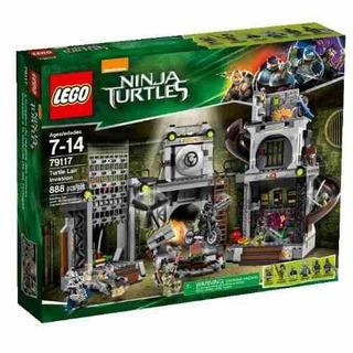 Nickelodeon Lego Ninja Turtles 79117 Turtle Lair Invasion!