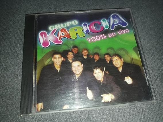 Cd Grupo Karicia - 100% En Vivo Impecable